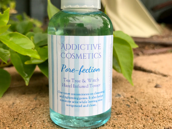 PORE-FECTION Deep Cleansing Toner- Shrink pores, deep clean blackheads, eliminate pimples. As always, All Natural and Vegan Friendly.