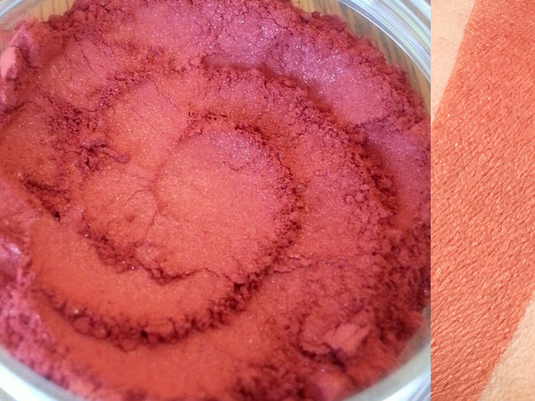 SCARLETT Mineral Blush Makeup- NARS Taj Mahal Inspired- All Natural, Vegan Friendly