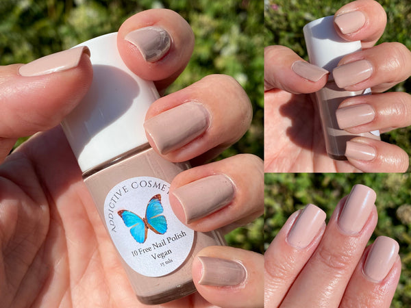 SKINNY DIPPIN'- 10 Free Nail Polish- Vegan Friendly, Cruelty Free