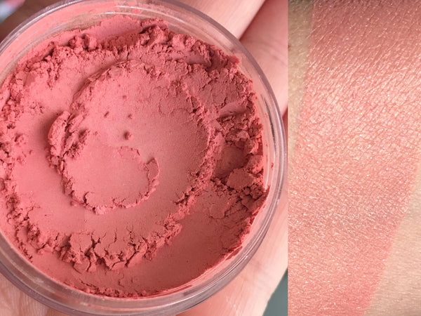 SUN GODDESS Mineral Blush Makeup- All Natural, Vegan Friendly Cosmetics