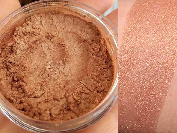 SUNSET SEXY Mineral Face and Body Highlighter- All Natural, Vegan Friendly