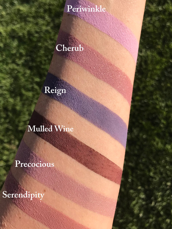 REIGN Matte Eyeshadow- All Natural, Vegan Friendly Eyeshadow and Eyeliner Makeup