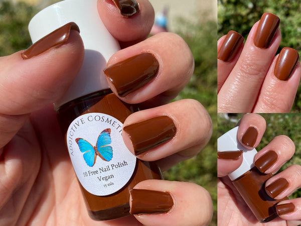 TRUFFLE SHUFFLE- 10 Free Nail Polish- Vegan Friendly, Cruelty Free
