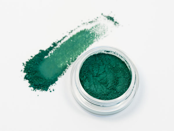 GREEN WITH ENVY Get This Look Trio- All Natural Eyeshadow and Eyeliner Makeup. Vegan Friendly.