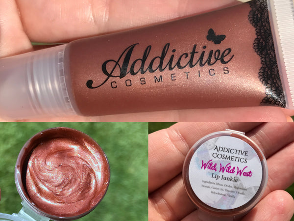 WILD WILD WEST Lip Junkie- Thick and Rich Vegan Friendly Lip Gloss