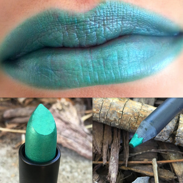 ALIEN- Lipstick and Liner or Sample. Vegan friendly.