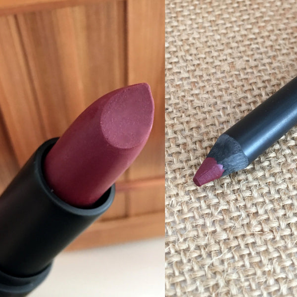 RAVENOUS- Lipstick and Liner or Sample. Vegan friendly.