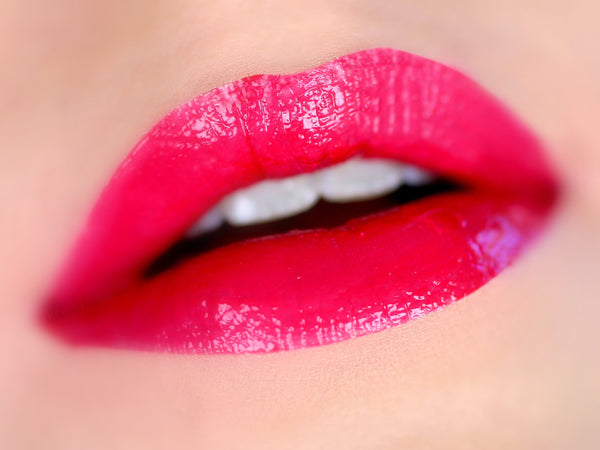 The PERFECT RED Lip Junkie- Thick and Rich Vegan Friendly Lip gloss