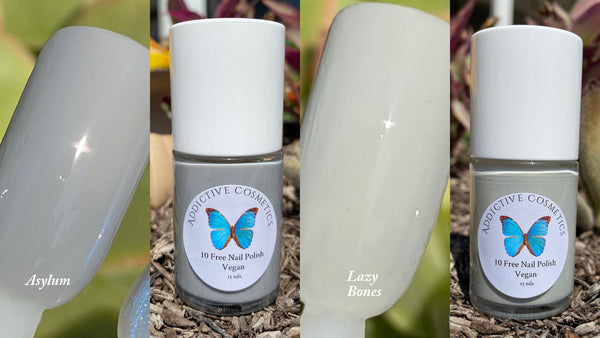New! ASYLUM- 10 Toxin Free Nail Polish- Vegan Friendly, Cruelty Free