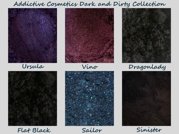 Dark and Dirty Collection with FREE eyeshadow
