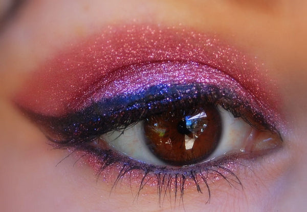 PINKALICIOUS Professional Grade Cosmetic Glitter Eyeshadow and Eyeliner. Vegan friendly.