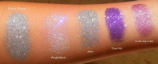 ANGELFACE- All Natural, Vegan Glitter Makeup Gel for Face and Body