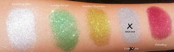 GOLD RUSH GLITTER- All Natural, Vegan Glitter Makeup Gel