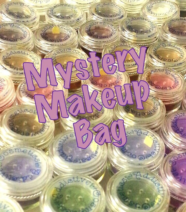 Mineral Makeup Mystery Bag- Try something new! All Natural, Vegan Friendly