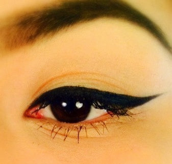 BLACK EYELINER- DIY All Natural, Vegan Eyeliner in Any Color...click here to pick...