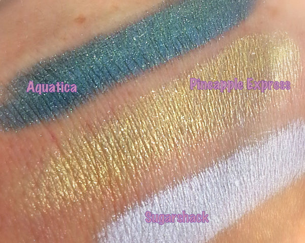 AQUATICA Mineral Eyeshadow Makeup-All Natural, Vegan Eyeshadow and Eyeliner Makeup- 5 gram jar