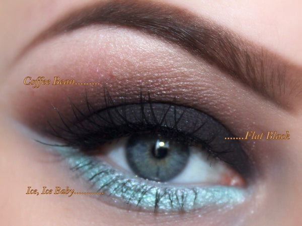 FIRST CLASS- Get this look- All Natural, Vegan Eyeshadow and Eyeliner Makeup