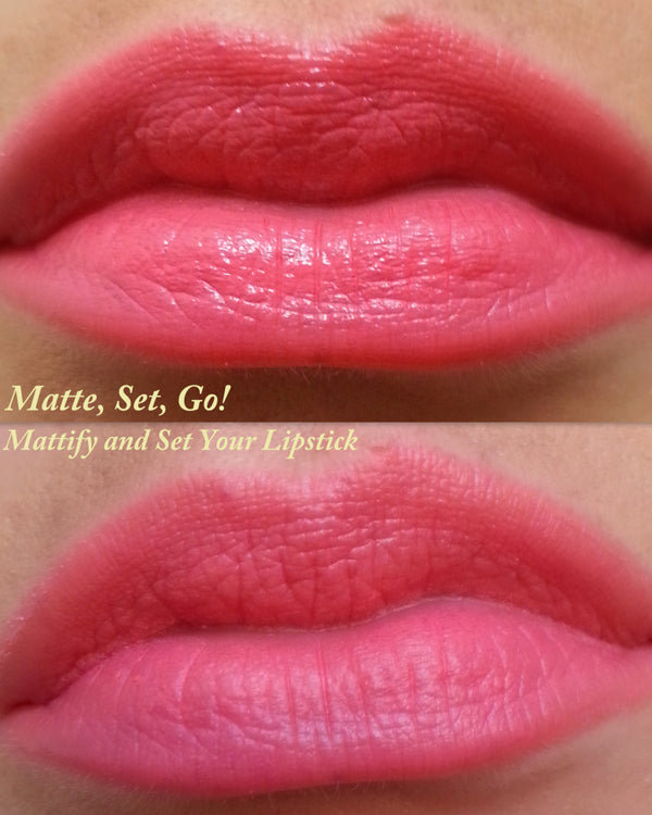 Lipstick Mattify and Setting Powder- All natural