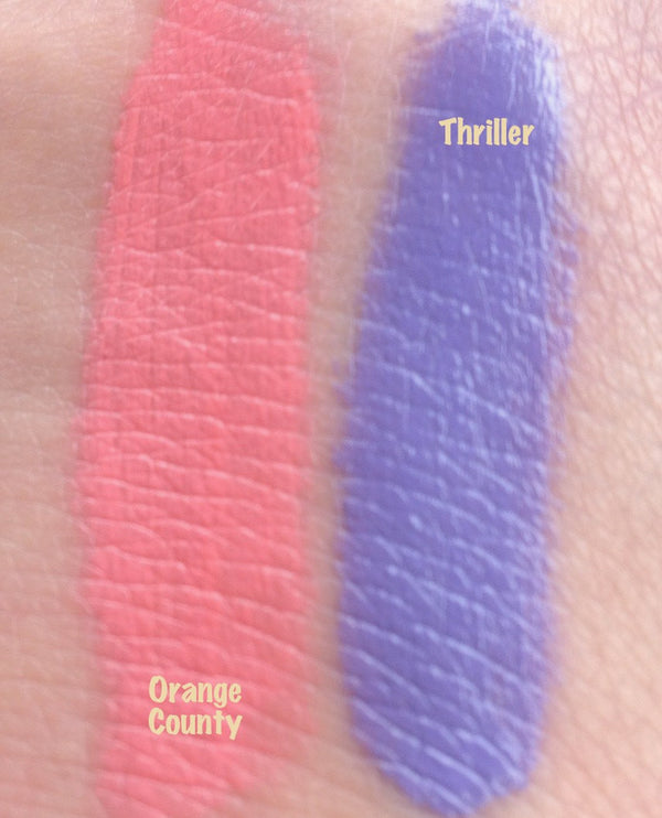 ORANGE COUNTY- All Natural Lipstick and Liner, Lip Junkie or Sample- Vegan friendly