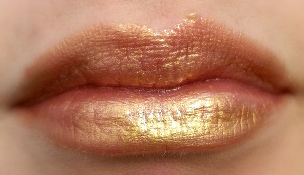 GOLDIGLOSS Thick and Rich, Vegan Lipgloss and Lipstick All in One