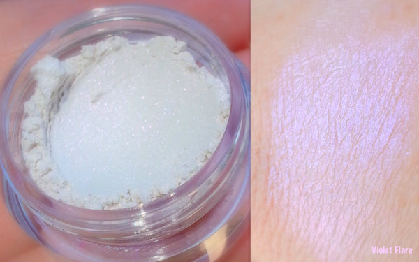 VIOLET FLARE Mineral Eyeshadow and Highlighter