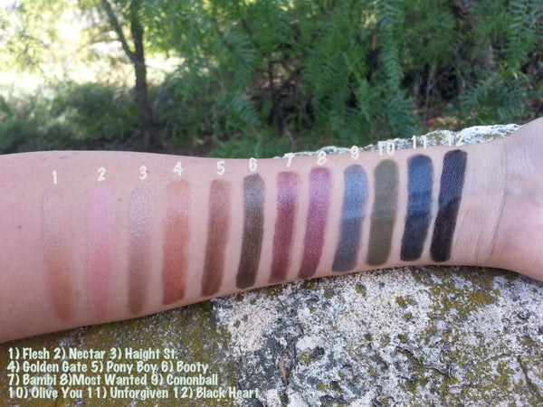 New! HAIGHT and BOOTY- Get 2 XL Color Stix to create this look- For use on Eyes, Cheeks and Lips. Instructions inside….