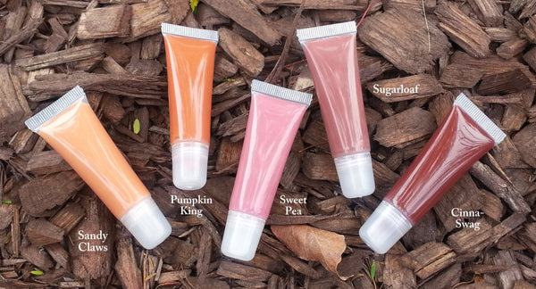 NEW! SWEET PEA- Part of the new Fall 2015 Collection- Thick and Rich, Vegan Lipgloss and Lipstick All in One