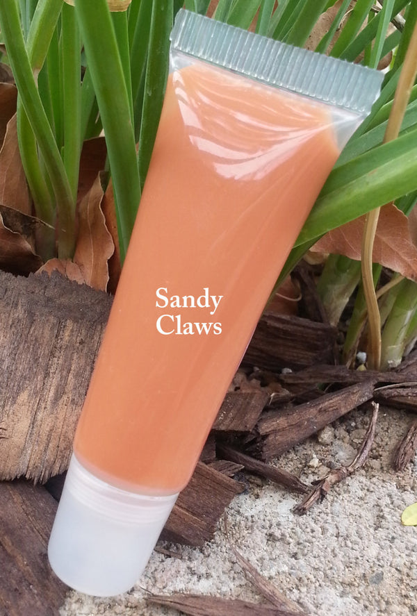 NEW! SANDY CLAWS- Part of the new Fall 2015 Collection- Thick and Rich, Vegan Lipgloss and Lipstick All in One