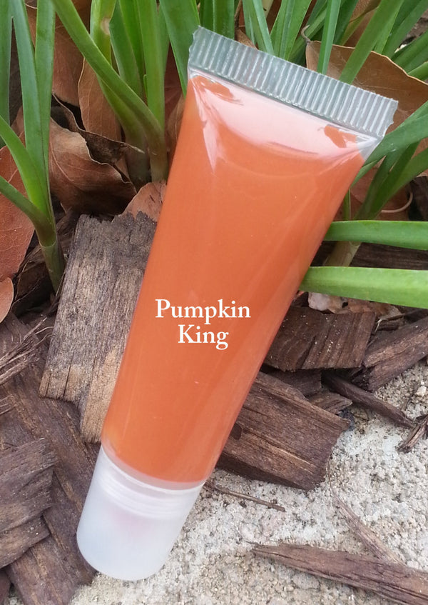PUMPKIN KING- Thick and Rich, Vegan Lipgloss and Lipstick All in One