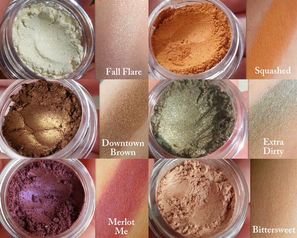FALL FLARE All Natural Eyeshadow and Mineral Highlighter