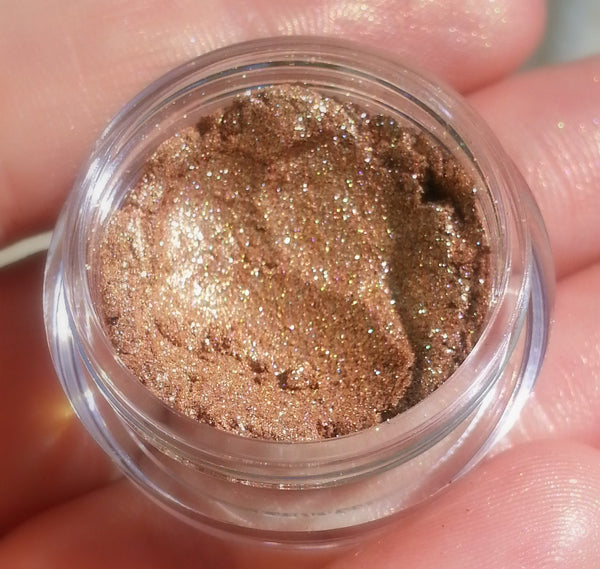 NEW! CHAMPAGNE GOLD Professional Grade Cosmetic Glitter- Gel or Dry Glitter- Different Sizes Available- Vegan Friendly