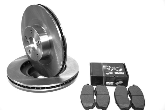 Mercedes-Benz C350 Sport Brake Rotors & Pads for 2006-2007 FREE SHIPPING
