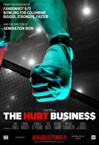 The Hurt Business Theatrical Poster
