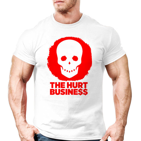 The Hurt Business Skull Tee