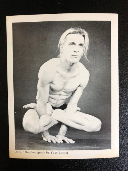 Postcards/Altar Cards: Davidji (Upward Rooster Pose) ONLY 1 LEFT