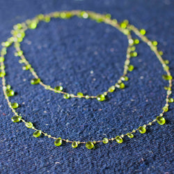 Long- Peridot Necklace