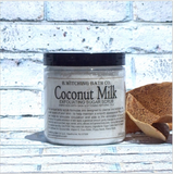 Exfoliating Sugar Scrub: Coconut Milk