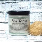Exfoliating Sugar Scrub: Spa Tonic