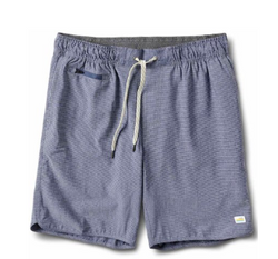 Banks Short Navy Engineered Stripe