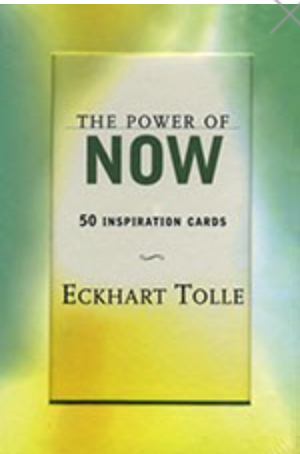 The Power of Now: Inspiration Cards by Eckhart TOlle