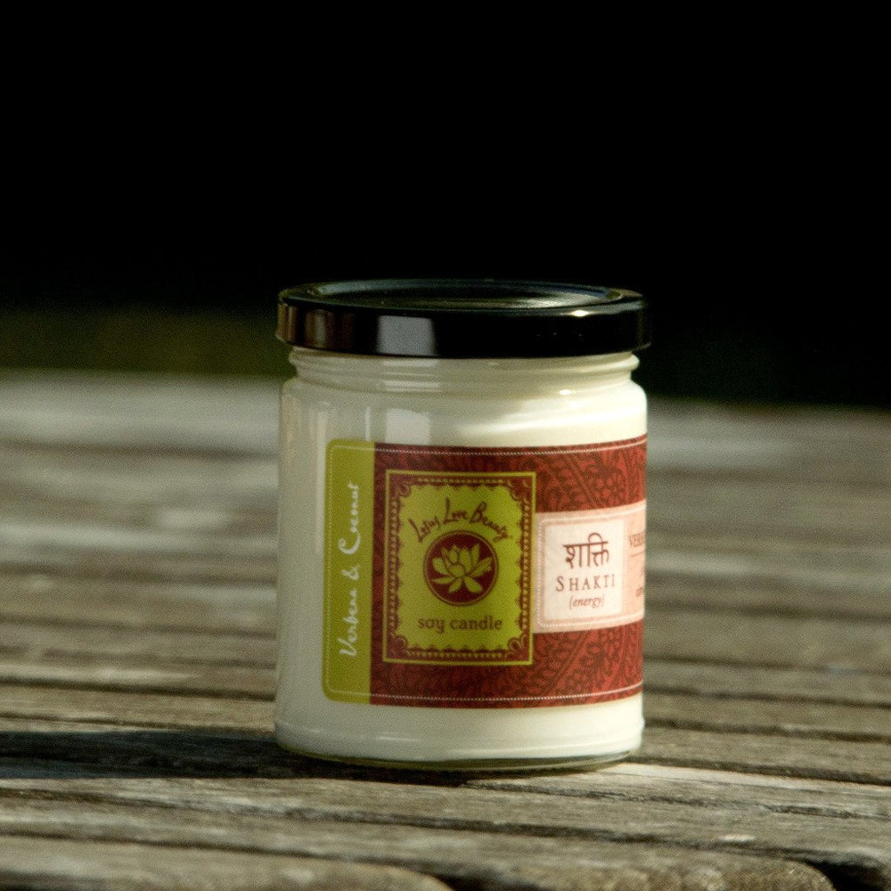 Lotus Love Jar Candle: Shakti (Verbena + Coconut)