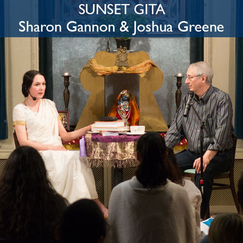 Sunset Gita: A dialog with Sharon Gannon & Joshua Greene