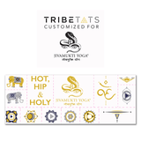Jivamukti Tribe Temporary Tattoos