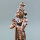 Hanuman with Mace - Bronze