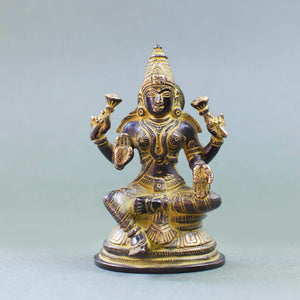 Lakshmi - Yellow Patina