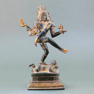 Load image into Gallery viewer, Shiva Nataraj - Yellow Patina
