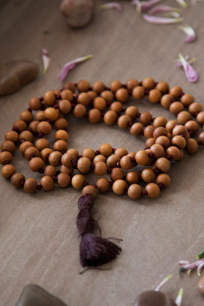 Sandalwood Small Beads