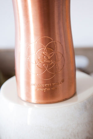 Copper Water Bottle Jivamukti