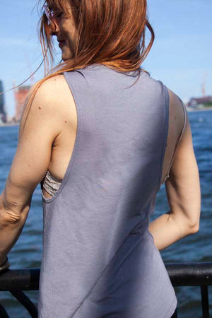 Load image into Gallery viewer, Womens Jivamukti Muscle Tank