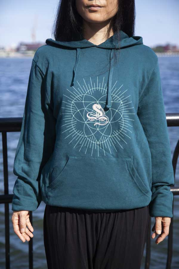Load image into Gallery viewer, Unisex Jivamukti French Terry Pullover Hoodie